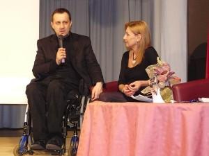 predseda SPZ Ján Riapoš a Alena Heribanová