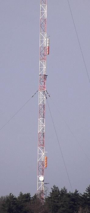Vysielač v Laskomeri.