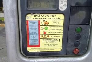 Parkovisko pri dome kultury Banska Bystrica