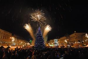Novoročný ohňostroj, Banská Bystrica, 1.1.2013, BBonline.sk
