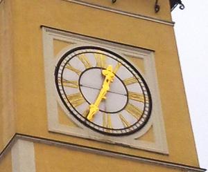 cas, hodinova veza