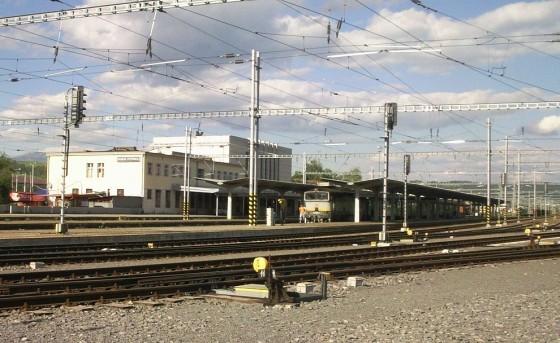 železničná stanica Banská Bystrica - web