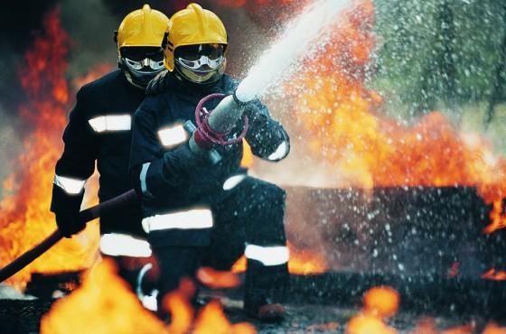 hasici - ilustracne