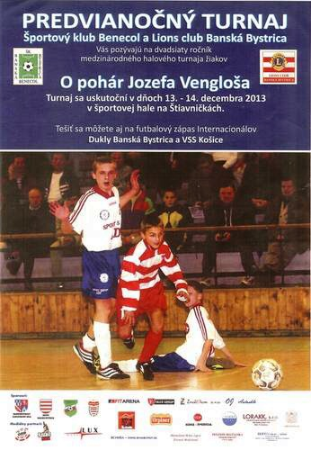 turnaj o pohar Jozefa Venglosa plagat