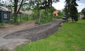 Objazd areálu Múza SNP, cesta, 17.5.2013, Banská Bystrica