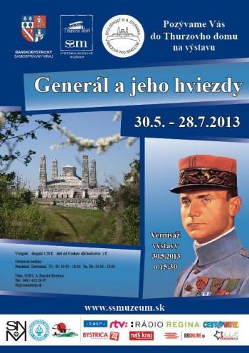 Plagát_na_výstavu_GENERÁL_A_JEHO_HVIEZDY