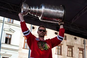 Michal Handzus a Stanley Cup, Banská Bystrica, 8.8.2013