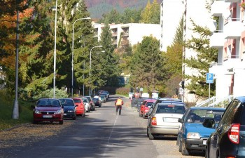 Slnecna ulica, Banska Bystrica, 14.10.2013