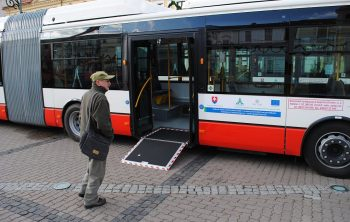 Nové kåbové autobusy v MHD Banská Bystrica, SAD Zvolen, 3.12.2012