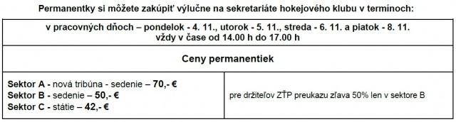 permanentky hc 05