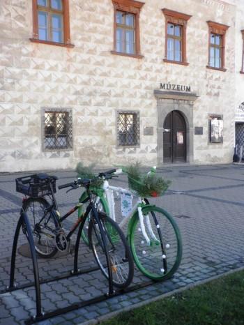 cyklostojany, Banská Bystrica, 2.12.2013