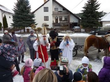 Mikulas, Banská Bystrica, 7.12.2013
