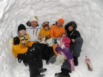 Rodina v iglu