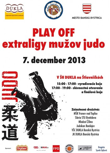 plagat A3 play off judo