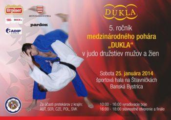 medzinarodny pohar v judo, 25.01.2014, Banska Bystrica