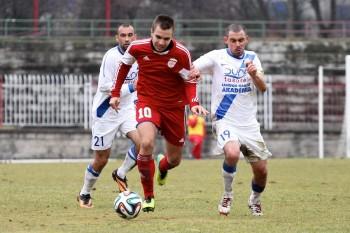 FK Dukla - MTK Budapest, priatelsky pripravny zapas, 22.2.2014
