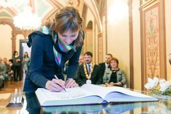 Anastasia Kuzmina, Banská Bystrica, 27.2.2014