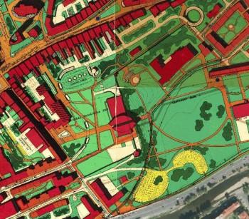 Uzemny plan centralnej mestkej zony 1977 Banska Bystrica nahladyl, 4.3.2014