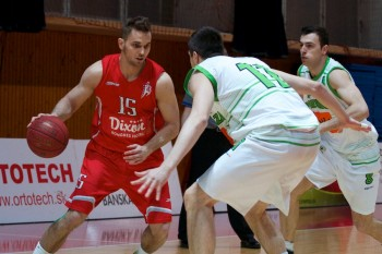 SKP Banska Bystrica - Prievidza, basketbal, 16.3.2014