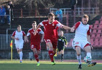 FK Dukla - FK Senica, Banska Bystrica, futbal, 8.3.2014