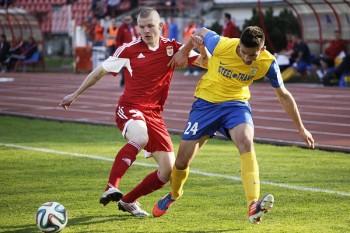 FK Dukla - MFK Kosice, futbal, 29.3.2014