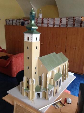 kostol model