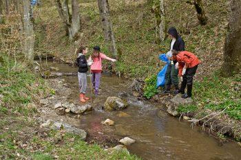 Čistenie Laskomerského potoka 2011