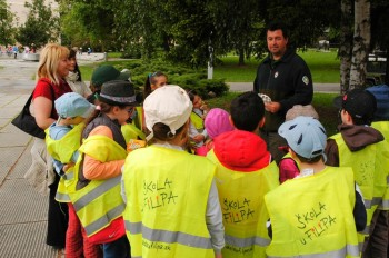 Deti zo Školy u Filipa na Envirofilme 2012