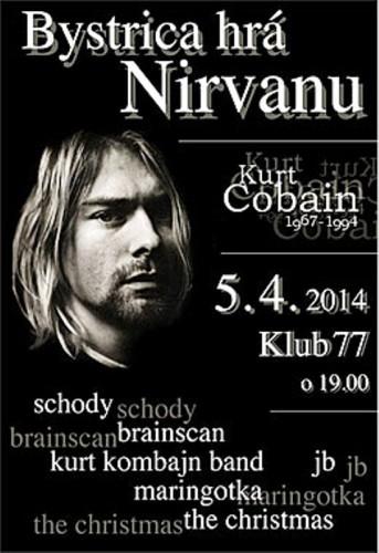 Klub 77 Bystrica hrá Nirvanu