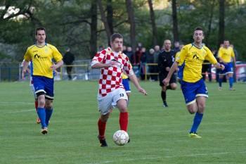 Futbal dedina Priechod - Sasova, 4.5.2014