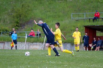 Futbal dedina Horne Prsany Harmanec, 8.5.2014