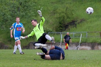 Futbal - Iskra Horne Prsany -  SK Zornicka Riecka, 18.05.2014, Banská Bystrica