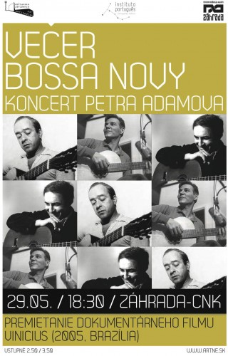 plagát_VĚČER BOSSA NOVY