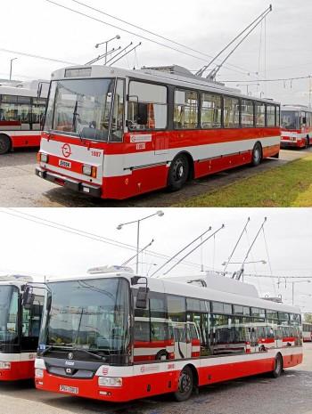 trolejbusy stary novy