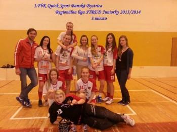 Florbal - 1. FbK Quick Sport Banska Bystrica