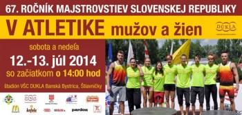 Majstrovstva Slovenska v Atletike
