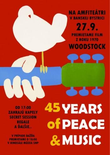 45 rokov woodstock