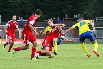 Futbal - FK Dukla Banska Bystrica - MFK Kosice - 27.09.2014 - Banska Bystrica