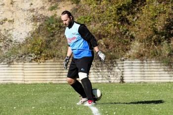 Futbal - TJ Iskra Horne Prsany - Tatran Harmanec - 28.09.2014 - Horne Prsany