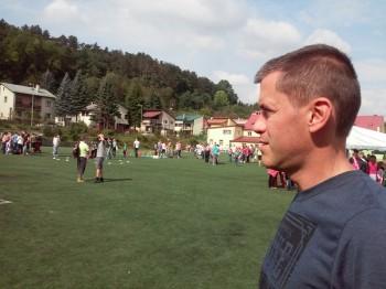 Jeden z organizátorov poslanec Igor Kašper