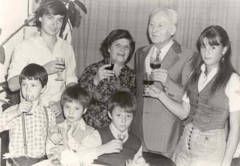 Jubileim starych rodicov - 1982