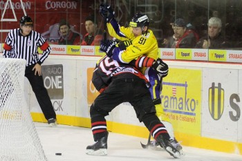 Hokej - HC 05 Banska Bystrica - SHK 37 Piestany - 04.11.2014 - Banska Bystrica