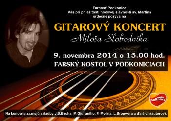 Gitarovy koncert Podkonice