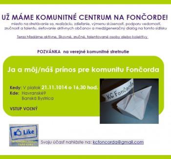 Pozvanka KC Foncorda