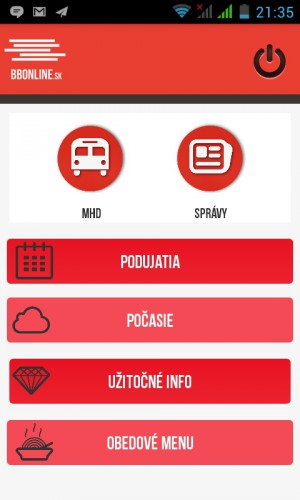 Android aplikacia BBonline   REGIONAL MEDIA, s.r.o.