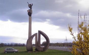 socha radost