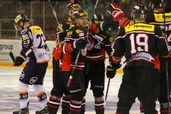 Hokej - HC 05 Banska Bystrica vs. HC Kosice - 15.02.2015 - Banska Bystrica