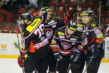 Hokej - HC 05 Banska Bystrica vs. HK Poprad - 22.02.2015 - Banska Bystrica