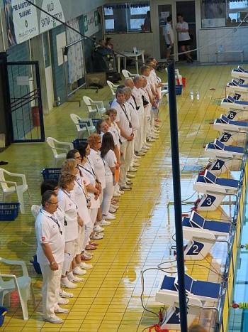 plavanie - Rozhodcovsky zbor