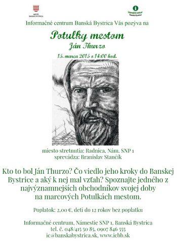 Potulky mestom - Jan Thurzo